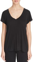 Yummie by Heather Thomson Ribbed V Neck Tee