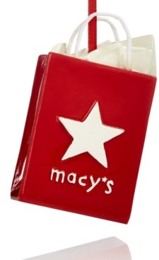 Macy's Collectible Shopping Bag Ornament, Created for