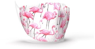 Aromababy Fabric Face Mask - Flamingo Pink