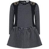 Ikks IKKSGirls Navy Striped Dress