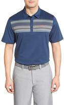 Travis Mathew Chase Stripe Pima Cotton Jersey Polo