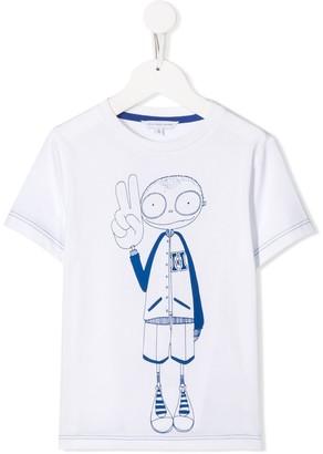 Little Marc Jacobs cartoon print T-shirt