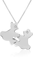 Forzieri Diamond & 18K Gold Teddy Bears Pendant Necklace