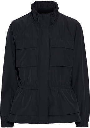 Donna Karan Layered Gathered Shell Jacket
