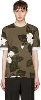 3.1 Phillip Lim Green Floral T-shirt