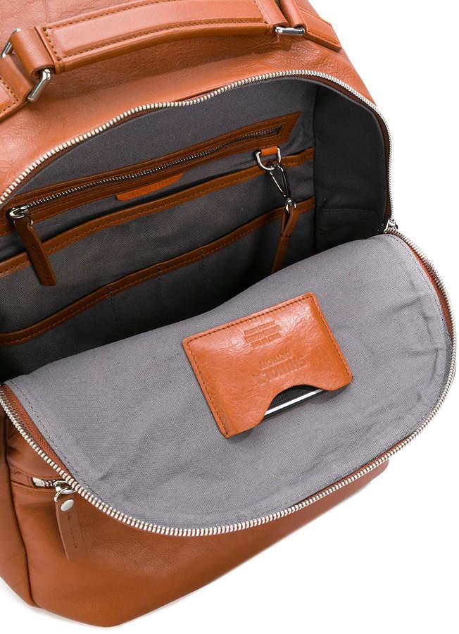 Shinola front pocket backpack