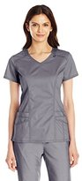 Dickies Women's Genflex (Contrast) V-Neck Top