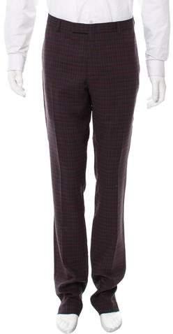 Christian Dior Wool Tartan Pants w/ Tags