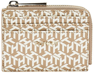 Tommy Hilfiger AW0AW08652_AEG ICONIC TOMMY Zip Around Credit Card Holder