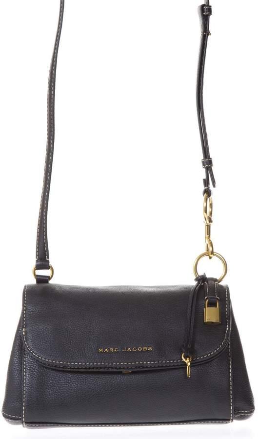 Marc Jacobs The Boho Grind Black Leather Shoulder Bag