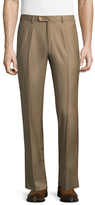 Isaia Solid Dress Trousers