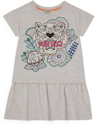 Kenzo Icon Tiger Floral Dress