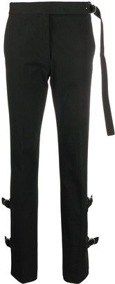 Helmut Lang Side-Buckle Trousers