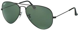 Ray-Ban Unisex Rb3025 62Mm Polarized Sunglasses