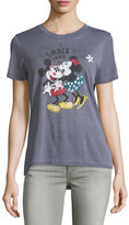 David Lerner Mickey Mouse Short-Sleeve Graphic Tee