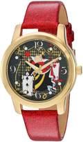Disney Women's 'Alice in Wonderland' Quartz Metal Automatic Watch, Color: (Model: W003142)