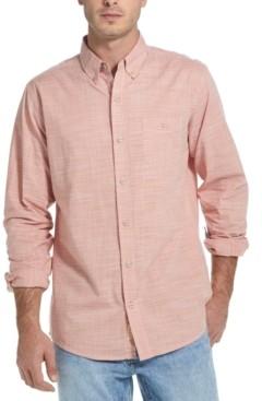 Weatherproof Vintage Men's Crosshatch Woven Shirt