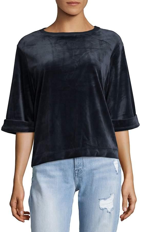 Cable & Gauge Women's Velvet Pullover