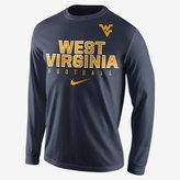 Nike College Practice Football (West Virginia) Men's Long Sleeve Top