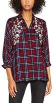 New Look Women's F Embel Check Shirt,6