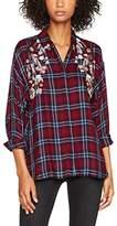 New Look Women's F Embel Check Shirt
