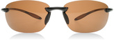 Serengeti Nuvola Sunglasses Shiny Brown 7316 Polariserade 65mm