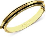 Givenchy Bracelet, 10k Gold-Plated Tortoise Medium Bangle