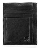 Haggar Buckskin Front Pocket Leather Wallet