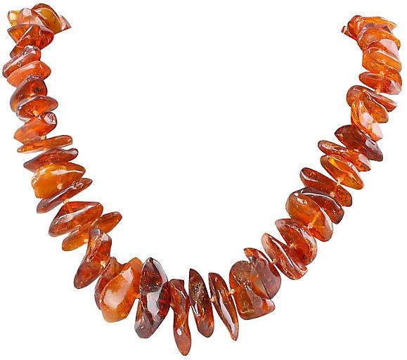 One Kings Lane Vintage Amber Necklace - Galleria d'Epoca