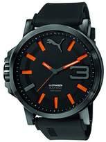 Puma PU-Ultrasize 50 Men's Watch, Black Orange