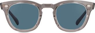 Mr. Leight Hanalei S Grycry-plt/blu Sunglasses