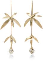 Annette Ferdinandsen 18K Gold Wildflower Earrings