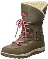 Jack Wolfskin Girls' Rhode Island Texapore High G Slip Boots,4 UK