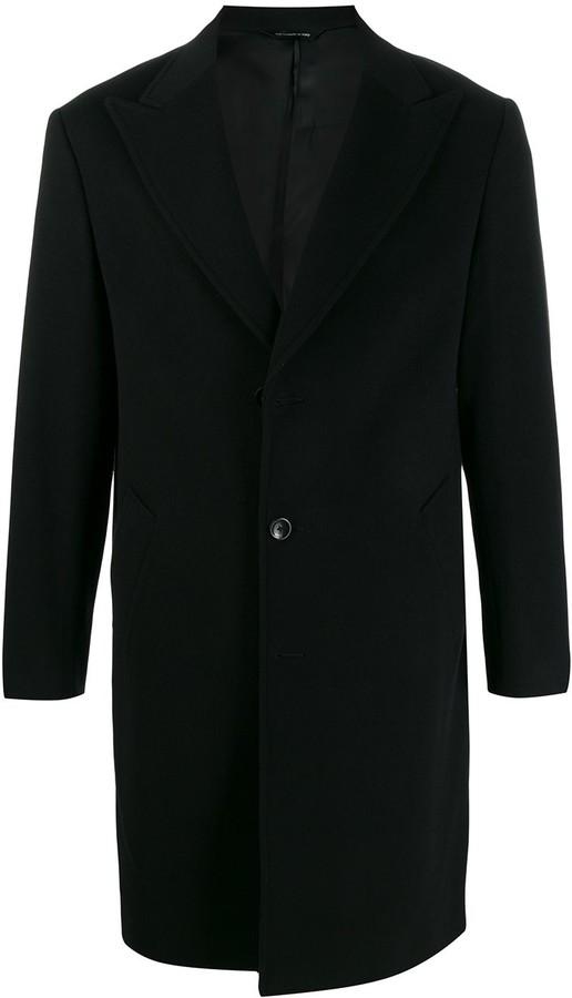 Tonello single-breasted buttoned coat