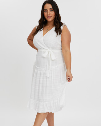 You & All Self Check Frill Dress