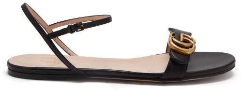 2b8835eff Gucci Marmont Sandals - ShopStyle