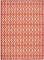 Nourison Waverly Sun & Shade Centro Campari Indoor/Outdoor Rug