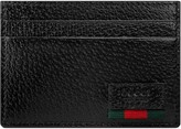Gucci Leather money clip with Web