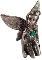 Leonardo Collection Birthstone Pewter Fairy Gemstone Ornament (August)