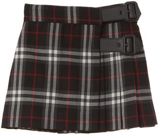 Burberry Luiza Vintage Check Wool Skirt
