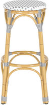 Safavieh Gray Odeon Barstool, Natural