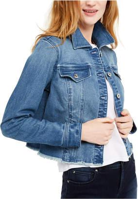 INC International Concepts Inc Cropped Denim Jacket