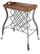 Silverwood Hawthorne Console Table and Wine Rack - Bronze