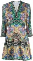 Sandro Paris Rayan paisley-print dress