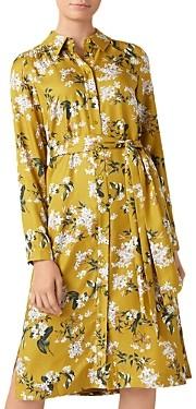 Hobbs London Floral Shirt Dress