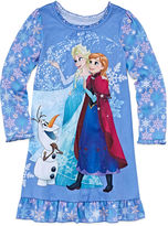 Disney Frozen Long-Sleeve Nightshirt - Girls 7-16