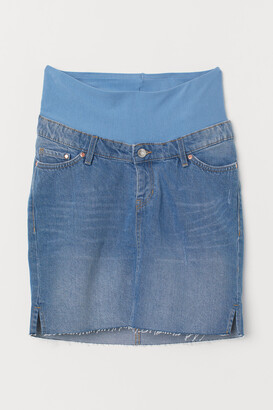 H&M MAMA Denim skirt