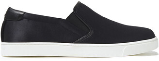 Gianvito Rossi Venice Satin Slip-on Sneakers