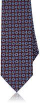 Isaia Men's Medallion-Pattern Necktie-RED