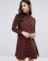 AX Paris Long Sleeved Swing Dress